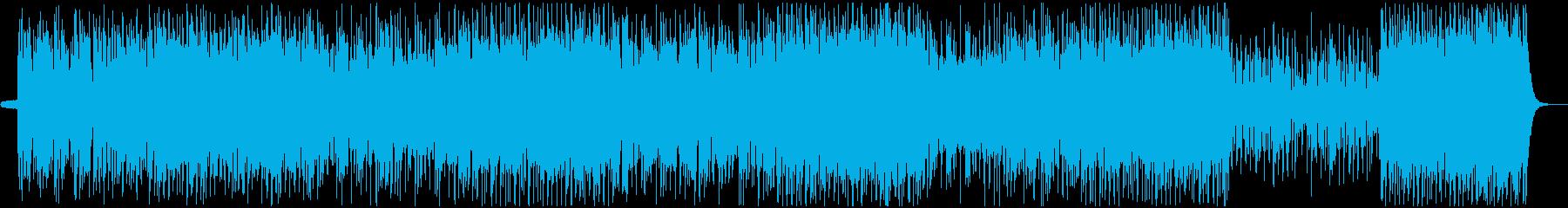 有名なケルト・アイルランド曲の再生済みの波形