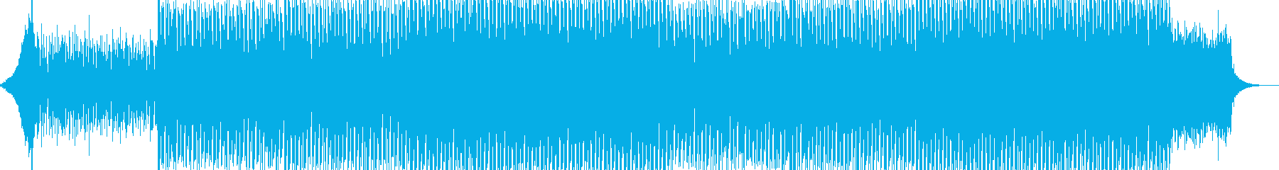 EDMクラブ系ダンスミュージック-116の再生済みの波形
