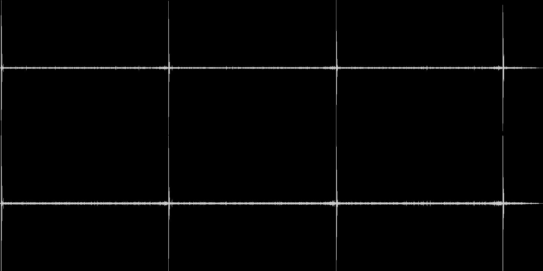 環境音-ししおどし(バイノーラル録音)の未再生の波形