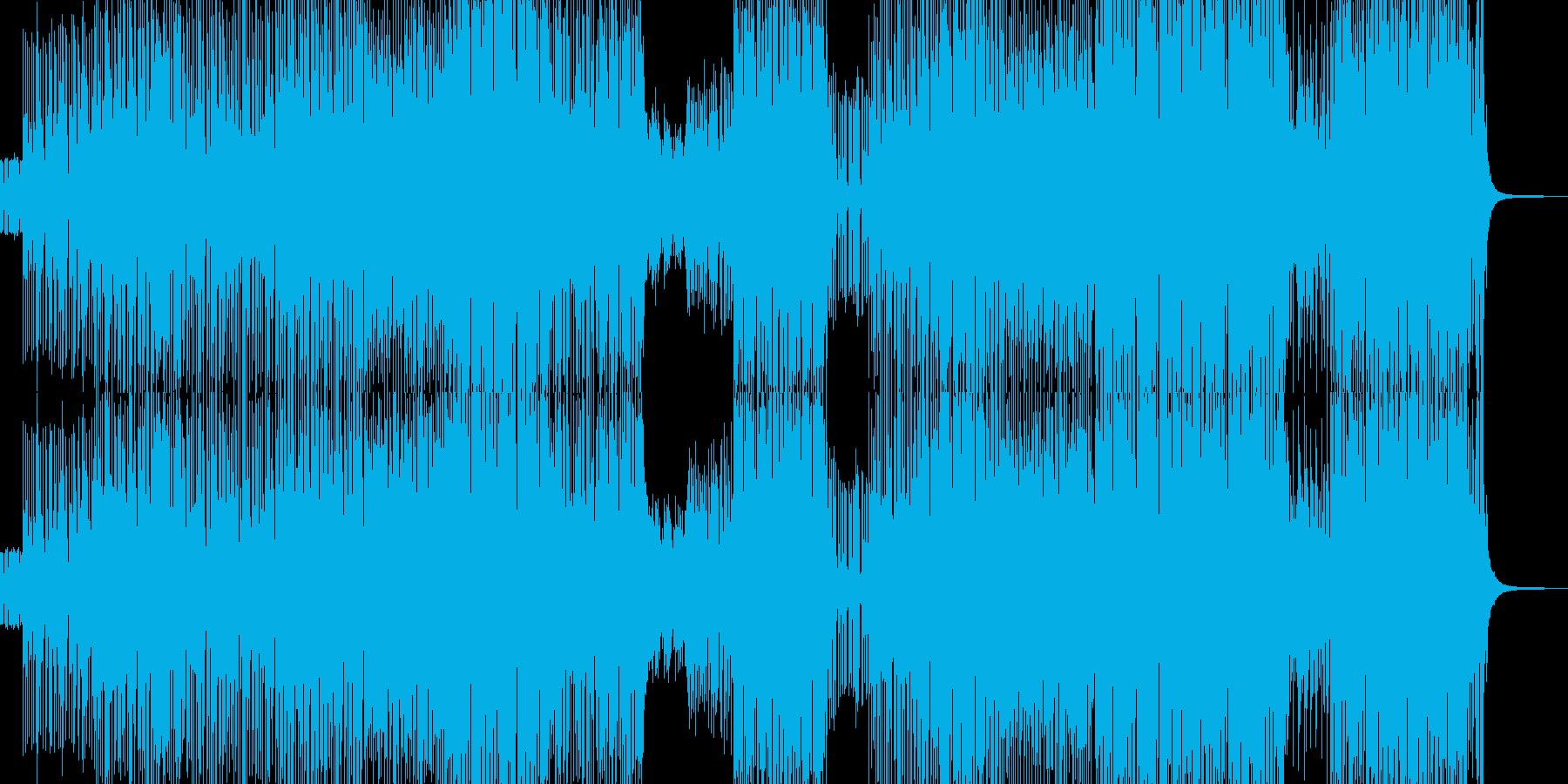 ユメカワなデジピコポップスの再生済みの波形
