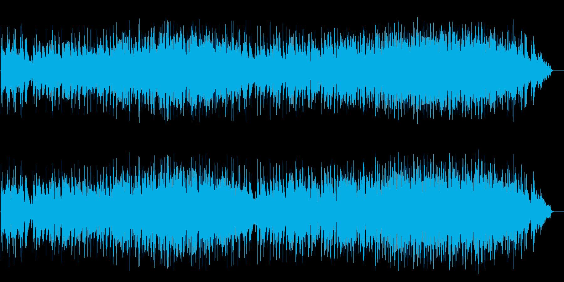 落着いたピアノ風バラード(フルサイズ)の再生済みの波形