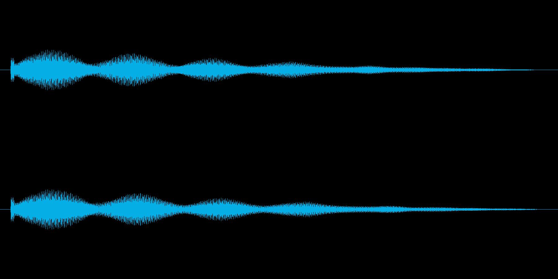 キラキラ系_101の再生済みの波形