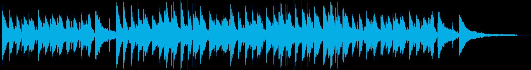 明るくポジティブな流行のサウンド♪の再生済みの波形