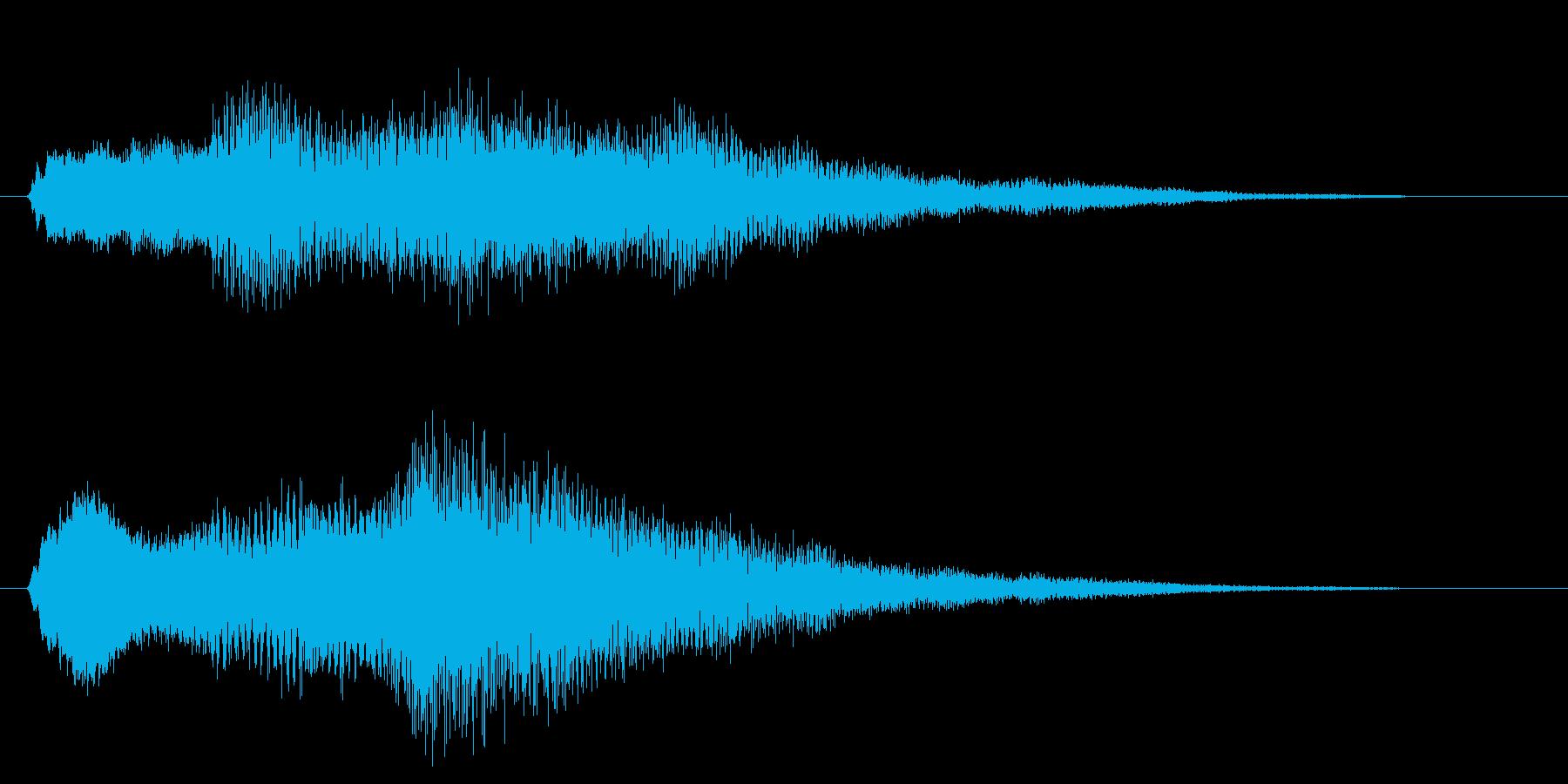 ミステリー&ホラー・発見・導入音3の再生済みの波形