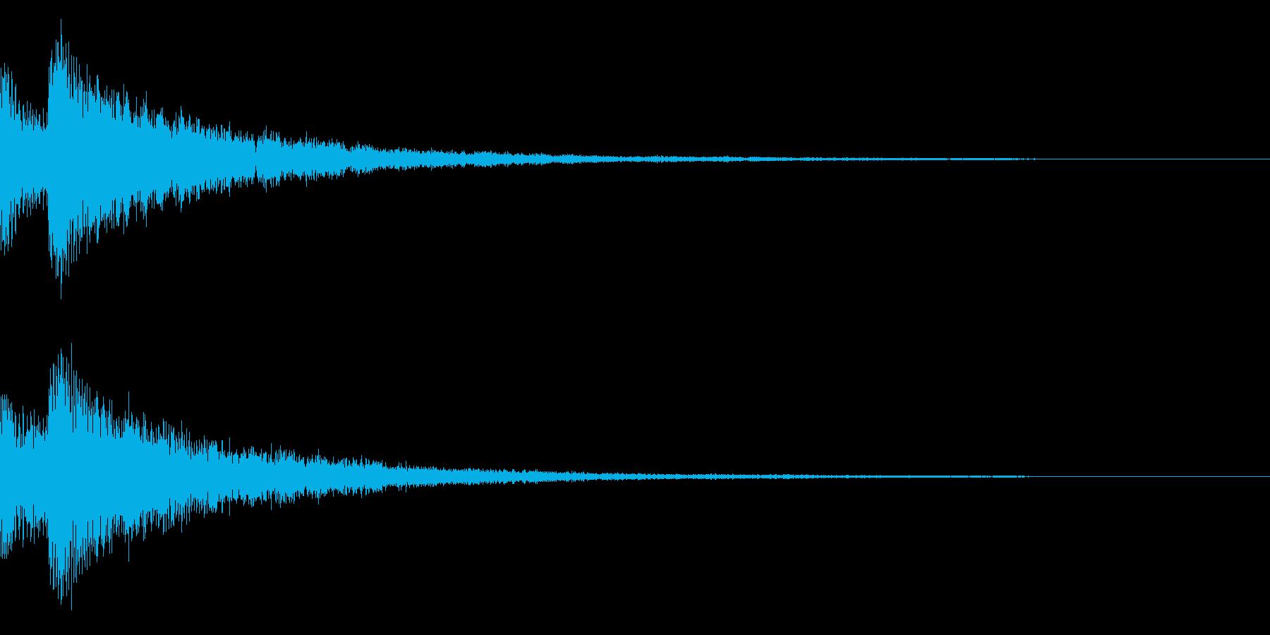 キラキラ/決定/星の再生済みの波形