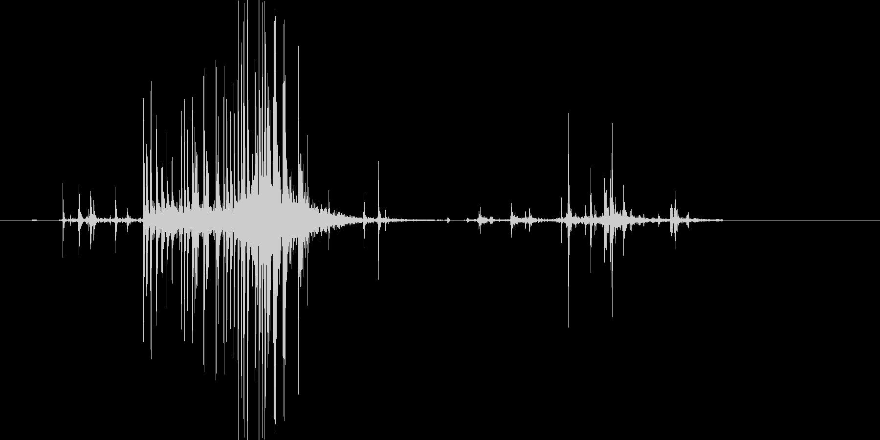 ビリッ(開封、ビニール、袋)の未再生の波形