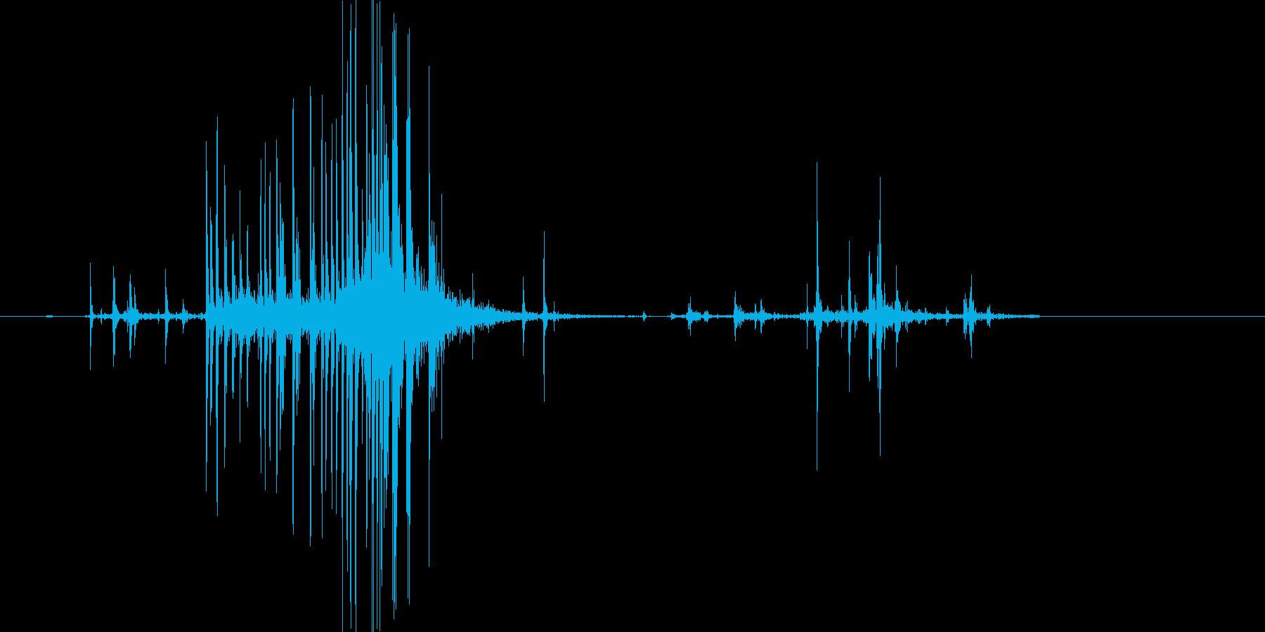 ビリッ(開封、ビニール、袋)の再生済みの波形