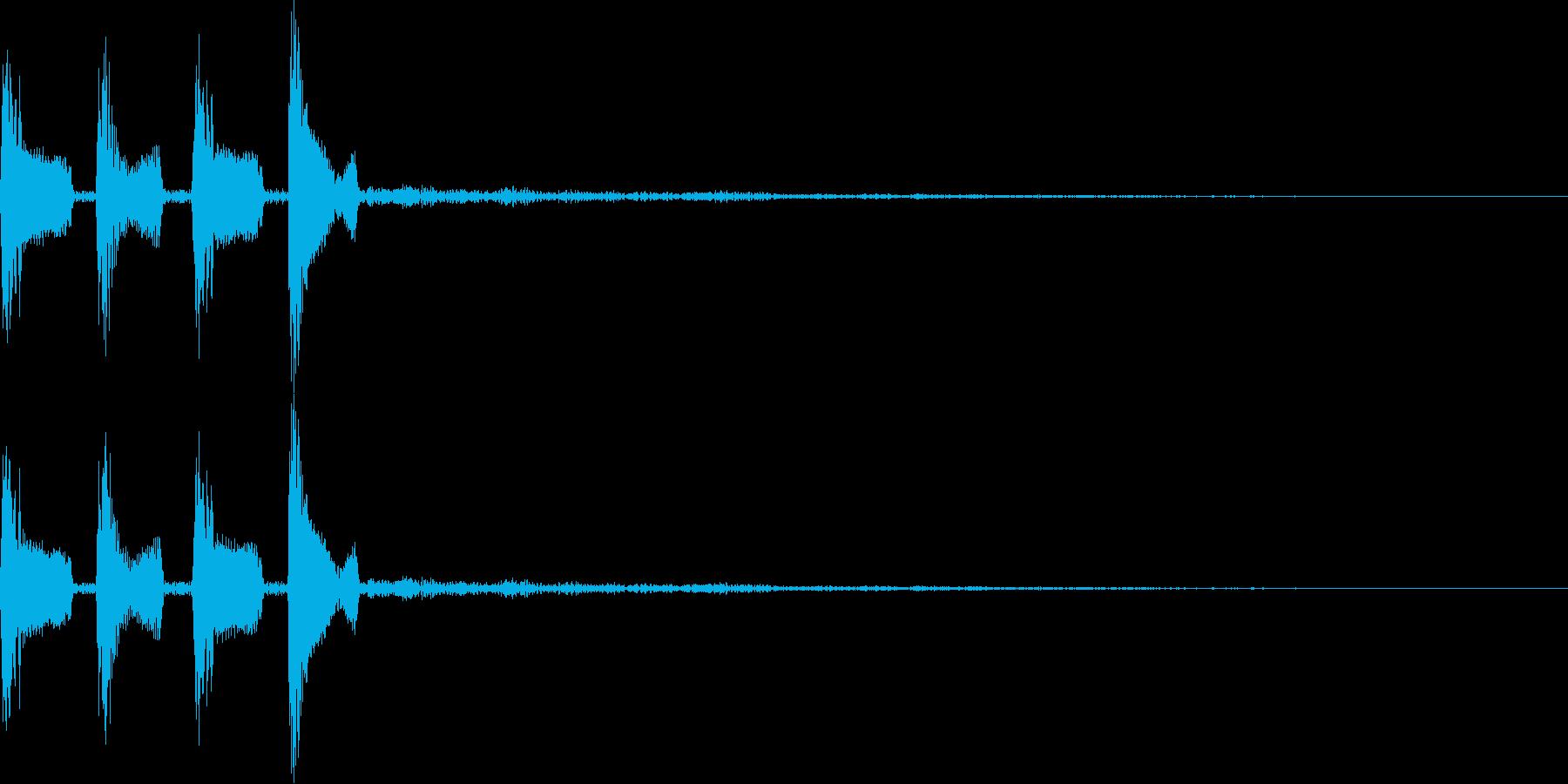 ピコピロン(決定、正解、ゲームスタート)の再生済みの波形