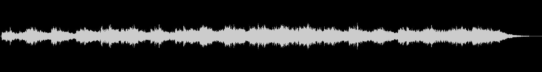 ジブリ風の想像の世界的なジングル2の未再生の波形