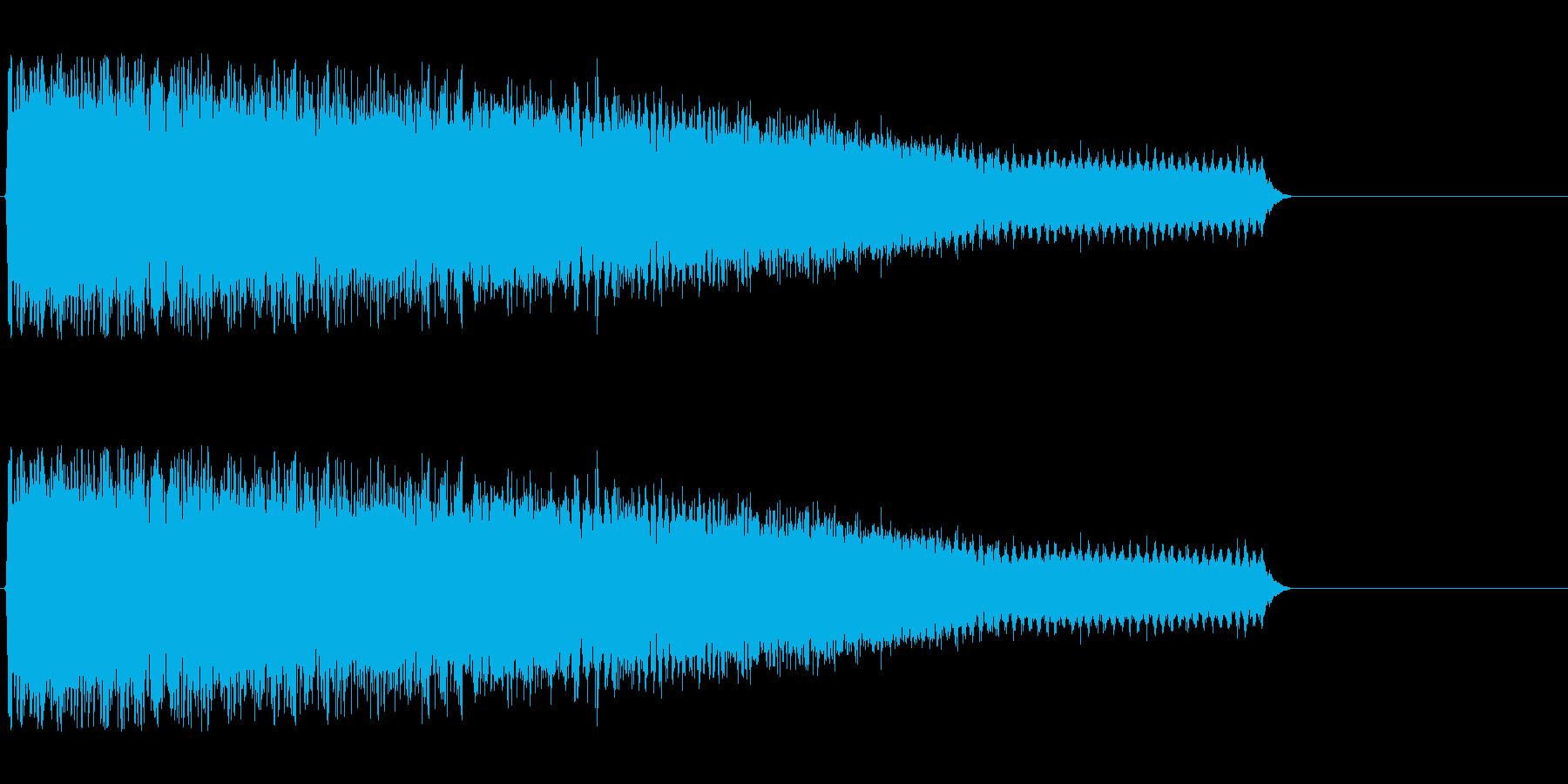 ギュルルルゥゥゥゥン↑(レーザー、溜め)の再生済みの波形