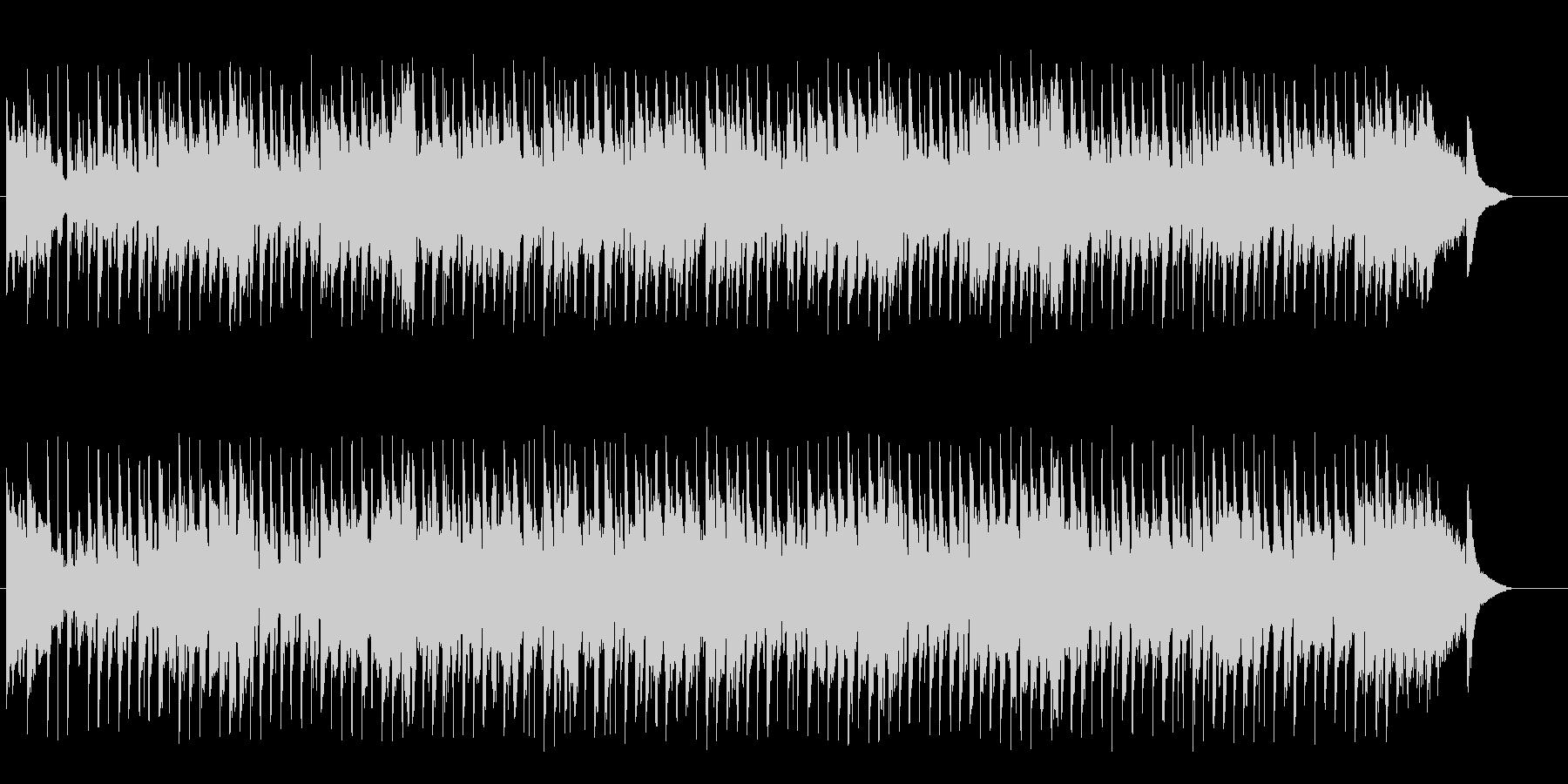 ジプシー風ワールド系マイナーBGMの未再生の波形