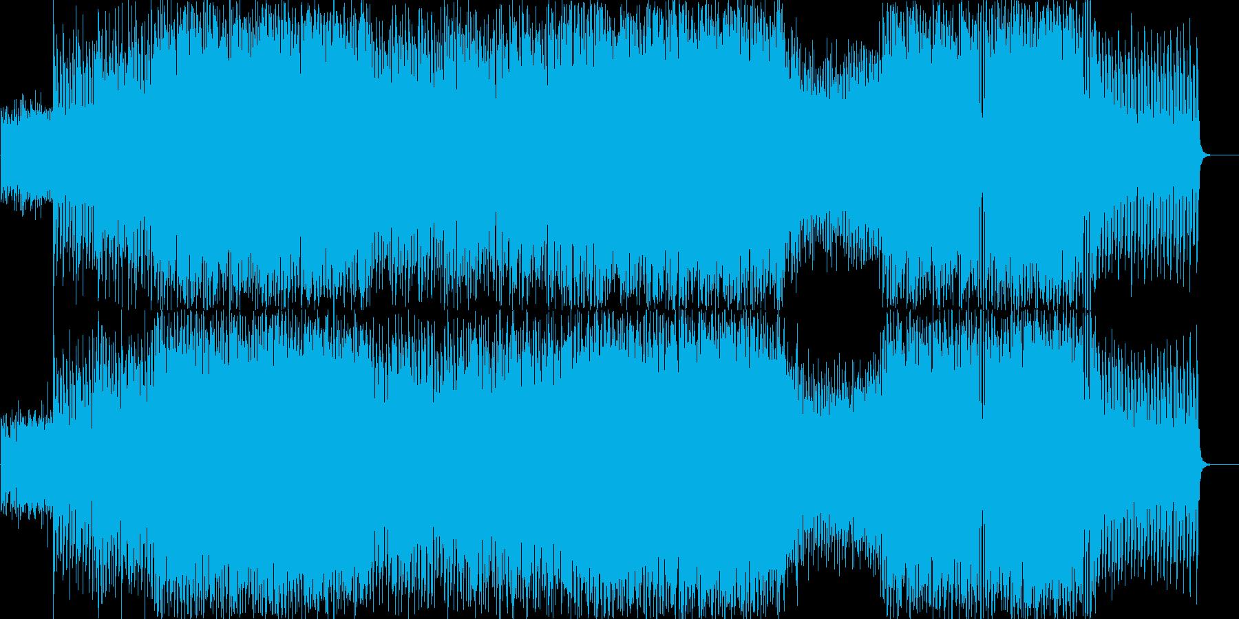 未知との遭遇、発見、中ボス戦闘時の曲の再生済みの波形