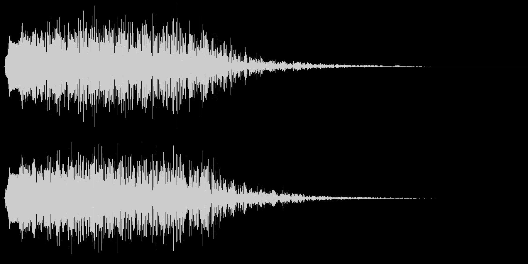 変な音 コミカル 消耗 パワーダウンの未再生の波形
