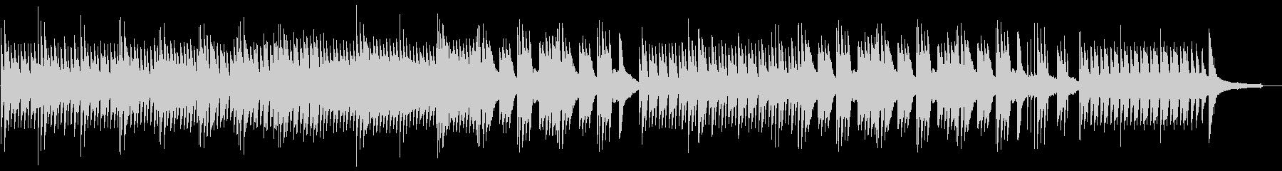 ゆったりと切ないピアノサウンドの未再生の波形