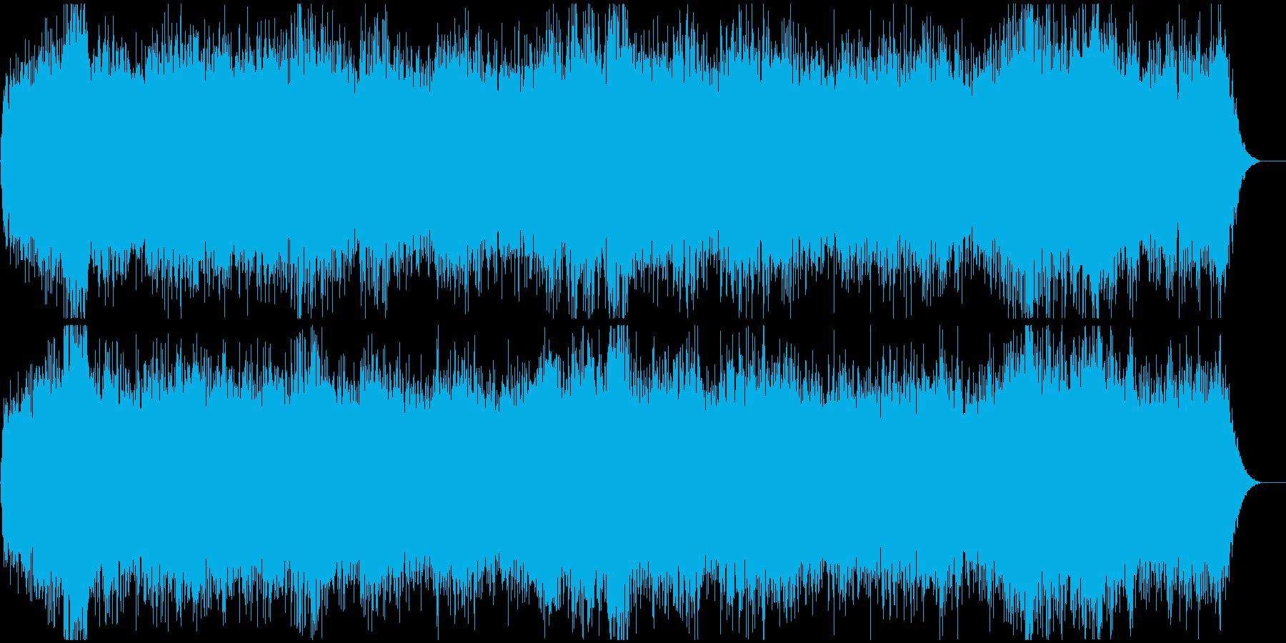 心霊映像の再現VTR用●アンビエント Bの再生済みの波形