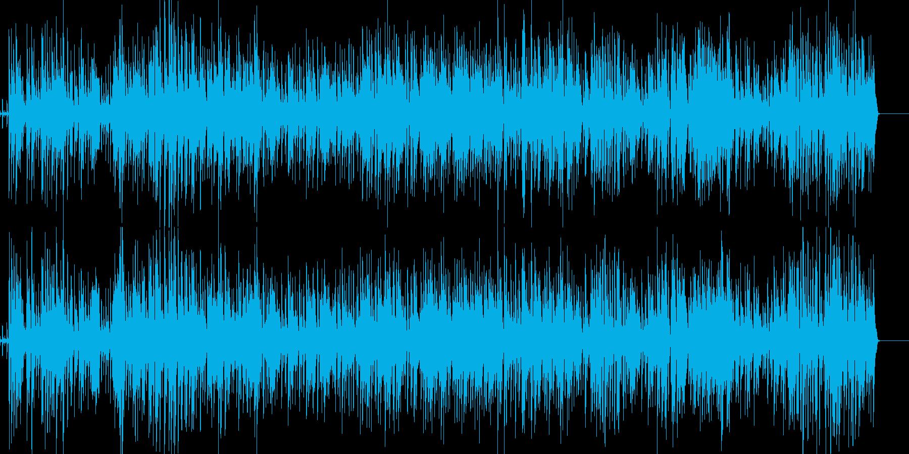 【ジャズ ピアノ】おしゃれなジャズの再生済みの波形
