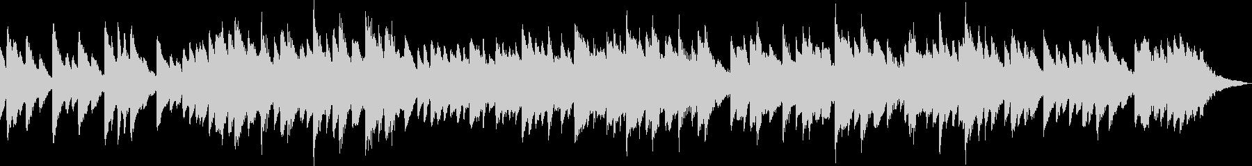 不気味・ホラーなチェレスタ/オルゴール曲の未再生の波形