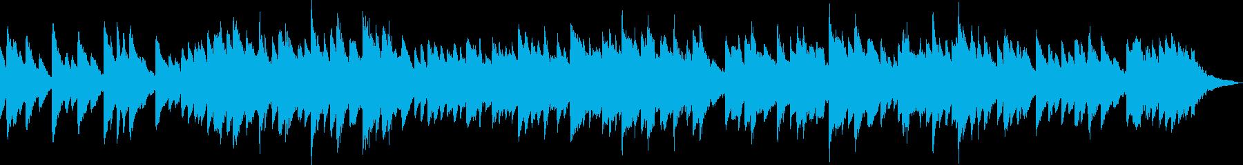 不気味・ホラーなチェレスタ/オルゴール曲の再生済みの波形
