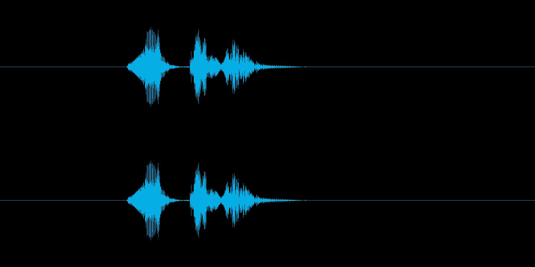 ナッケドゥンの再生済みの波形