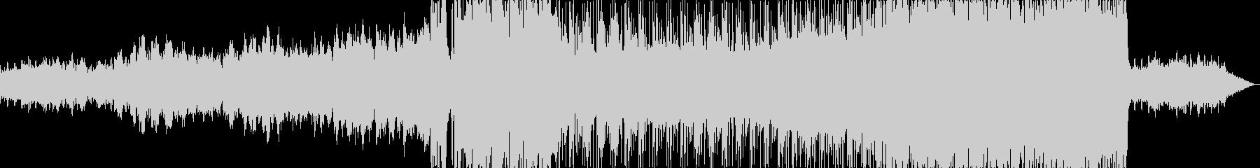 ピアノが印象的な寂しい雰囲気のバラード2の未再生の波形