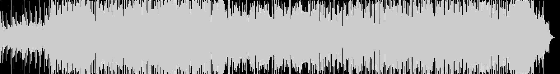 日本 琴 太鼓 和をイメージしたBGMの未再生の波形