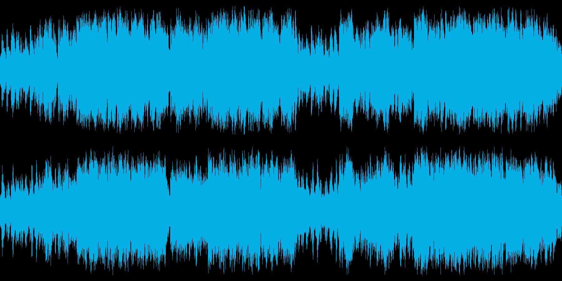 不気味・幻想的ホラー・切ないオルゴール曲の再生済みの波形