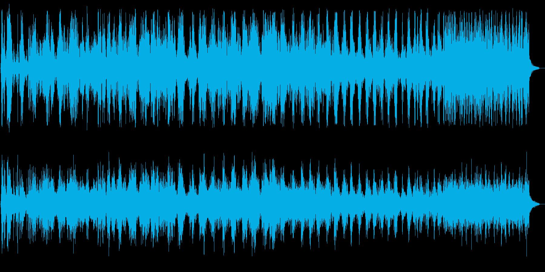 瓶のフタが回転する音の再生済みの波形