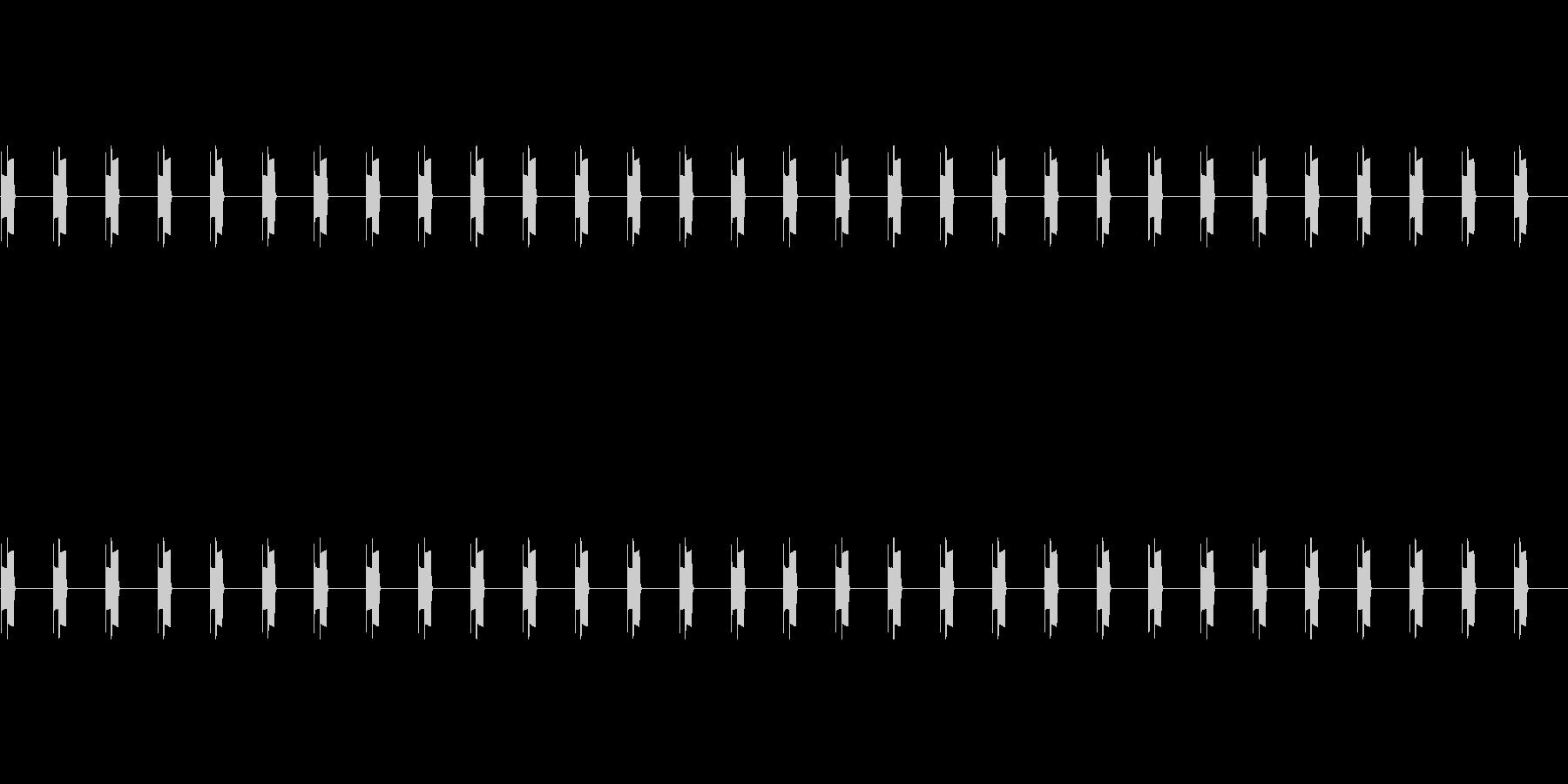 ピコ(電子音・30秒)の未再生の波形