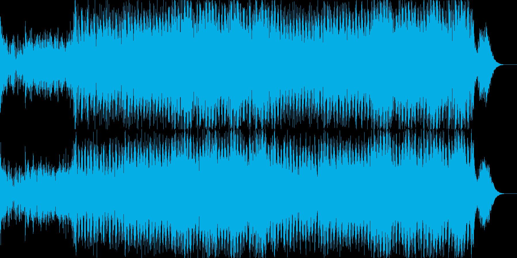 オープニング企業VPイベント-02の再生済みの波形
