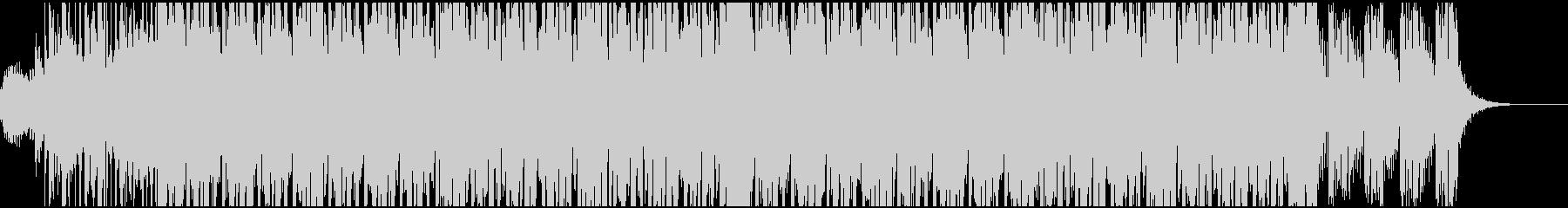 EDMサウンド。CMなどの映像BGMにの未再生の波形