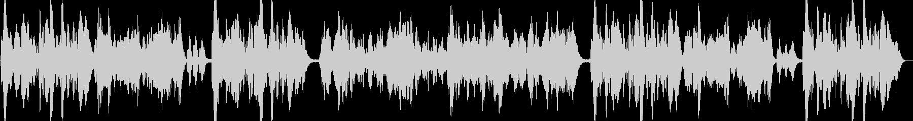 優雅なヴァイオリンのイージーリスニングの未再生の波形