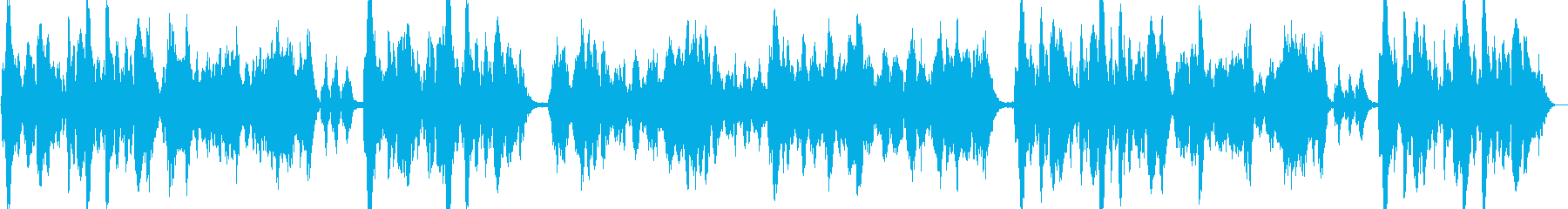 優雅なヴァイオリンのイージーリスニングの再生済みの波形