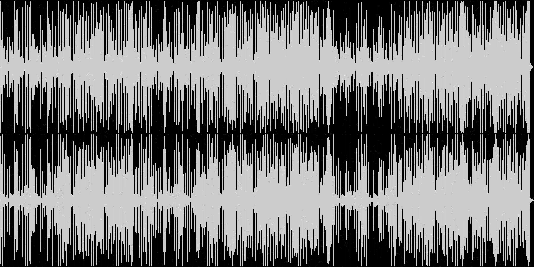 おしゃれなR&Bの未再生の波形