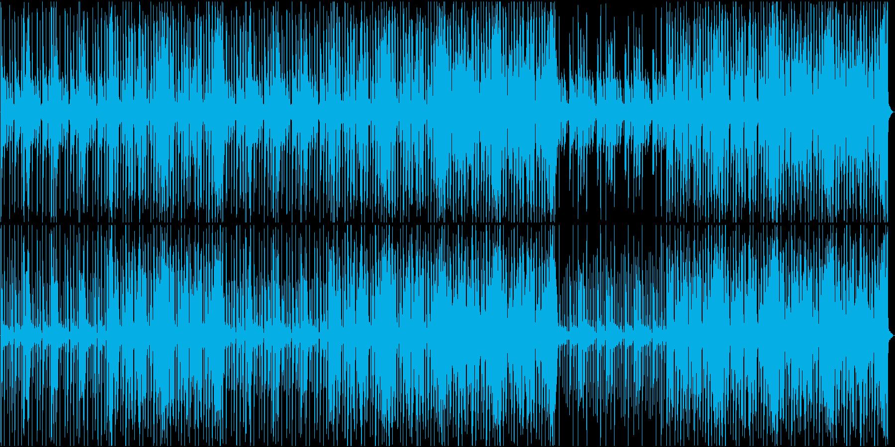 おしゃれなR&Bの再生済みの波形