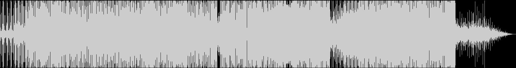 ヒップホップ風の派手なジャジーポップの未再生の波形