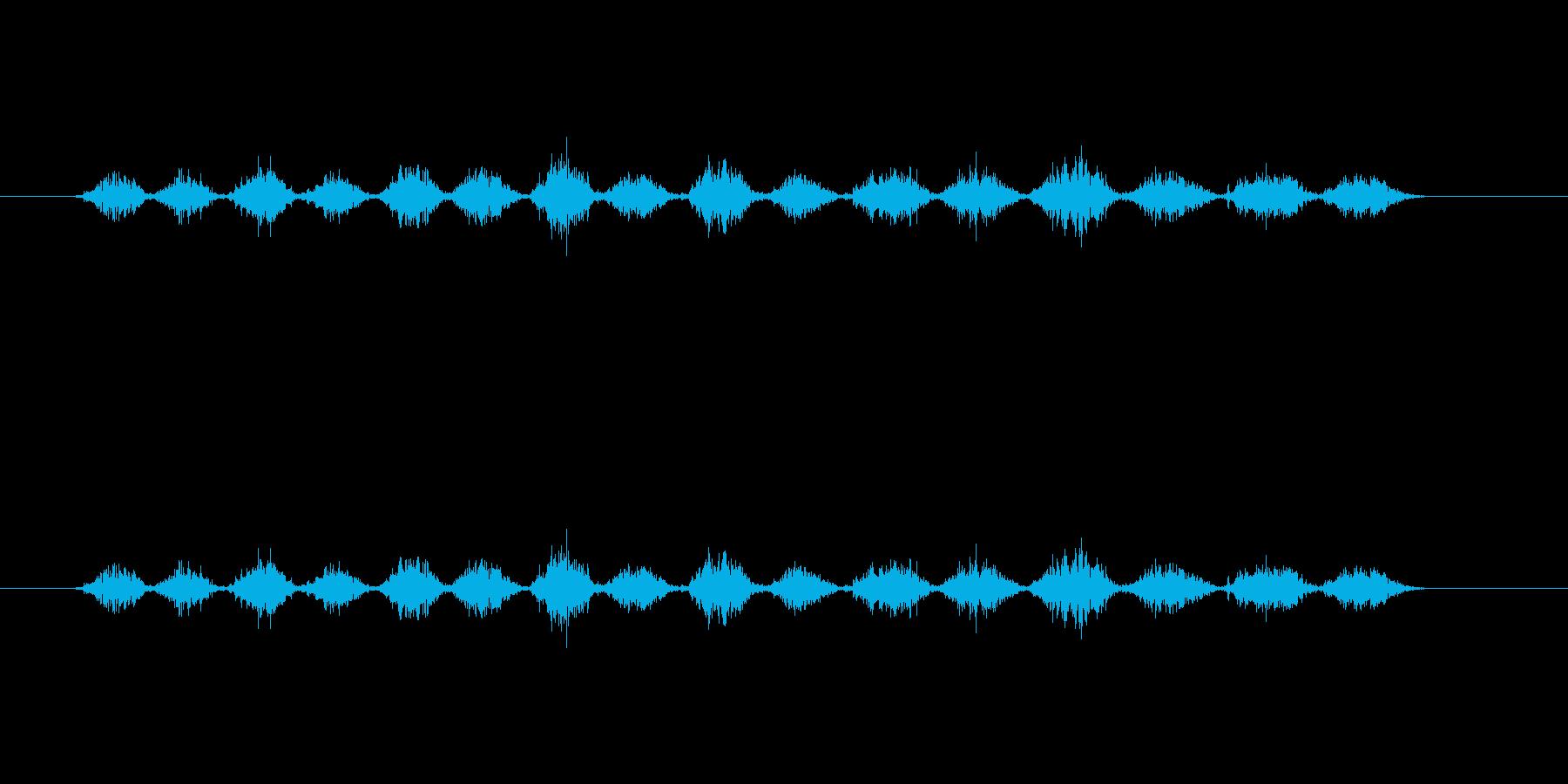 【ボールペン01-11(塗りつぶす)】の再生済みの波形