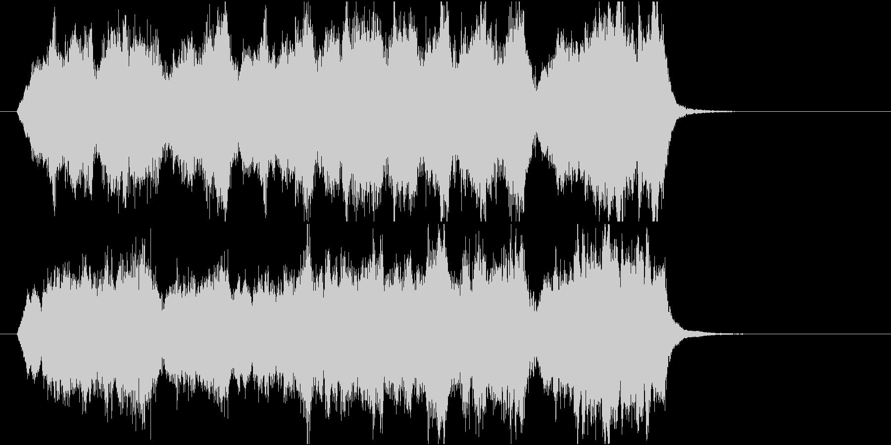 15秒CM向け 心癒す弦楽四重奏 の未再生の波形