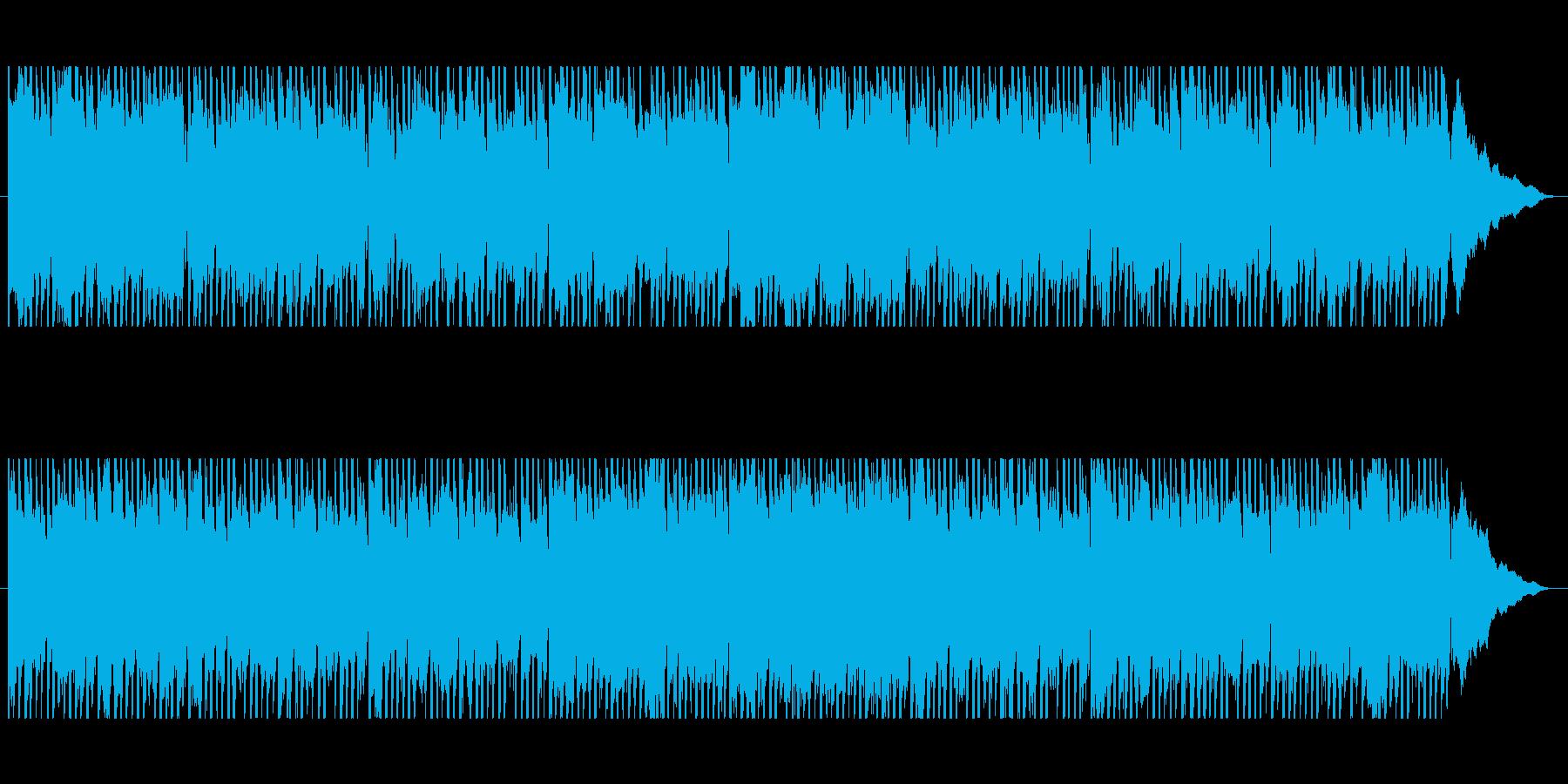 ラテンふわふわゆる系パーカッション入の再生済みの波形