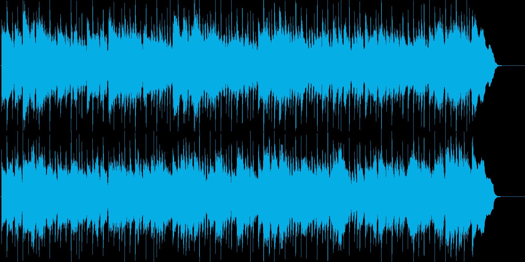 柔らかく温かい雰囲気のポップスの再生済みの波形