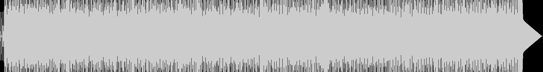 テクノポップ系の未再生の波形