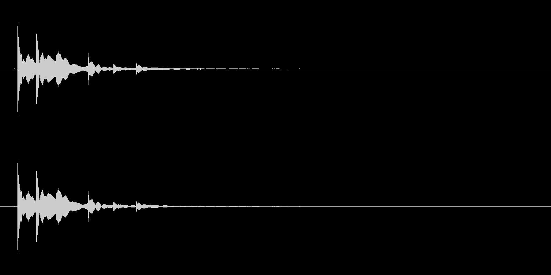 チリリ、リンの未再生の波形