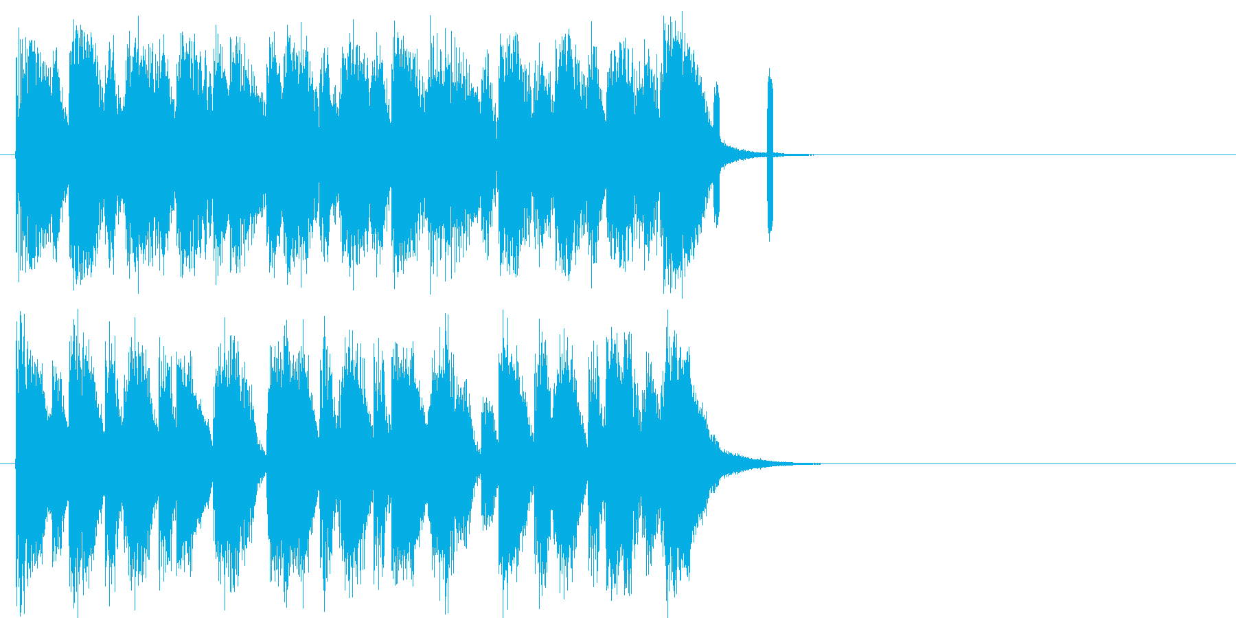 コミカル クイズ 発表 登場 イベントの再生済みの波形