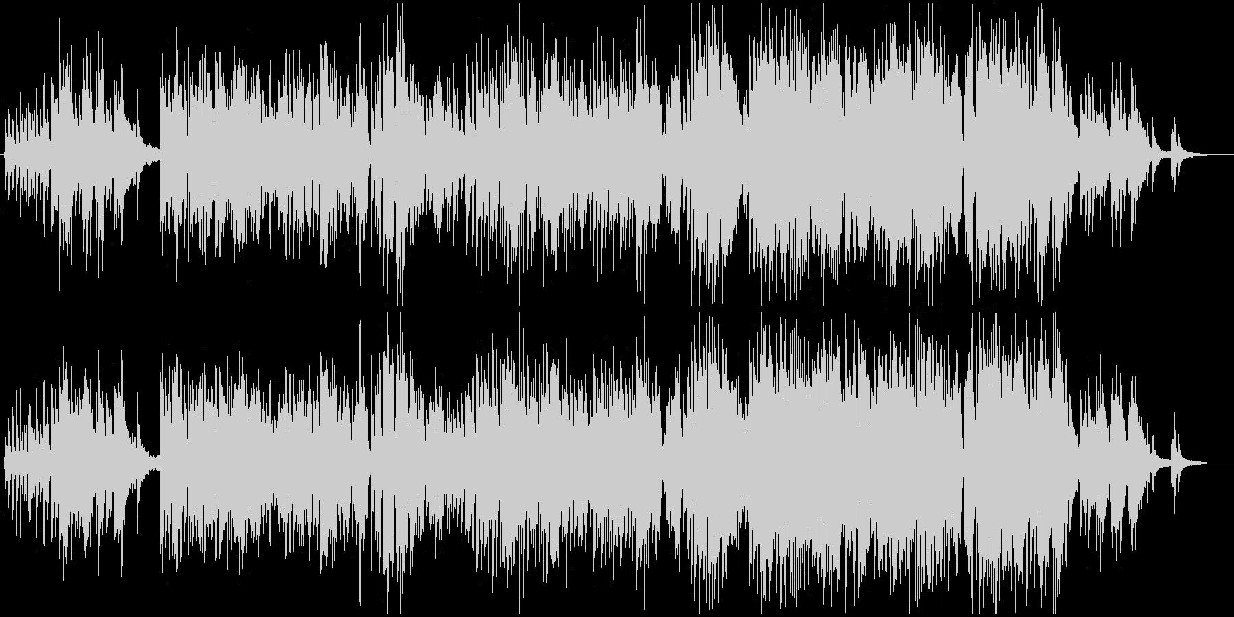ピアノと歌声が、日常の詞を素敵に奏でますの未再生の波形
