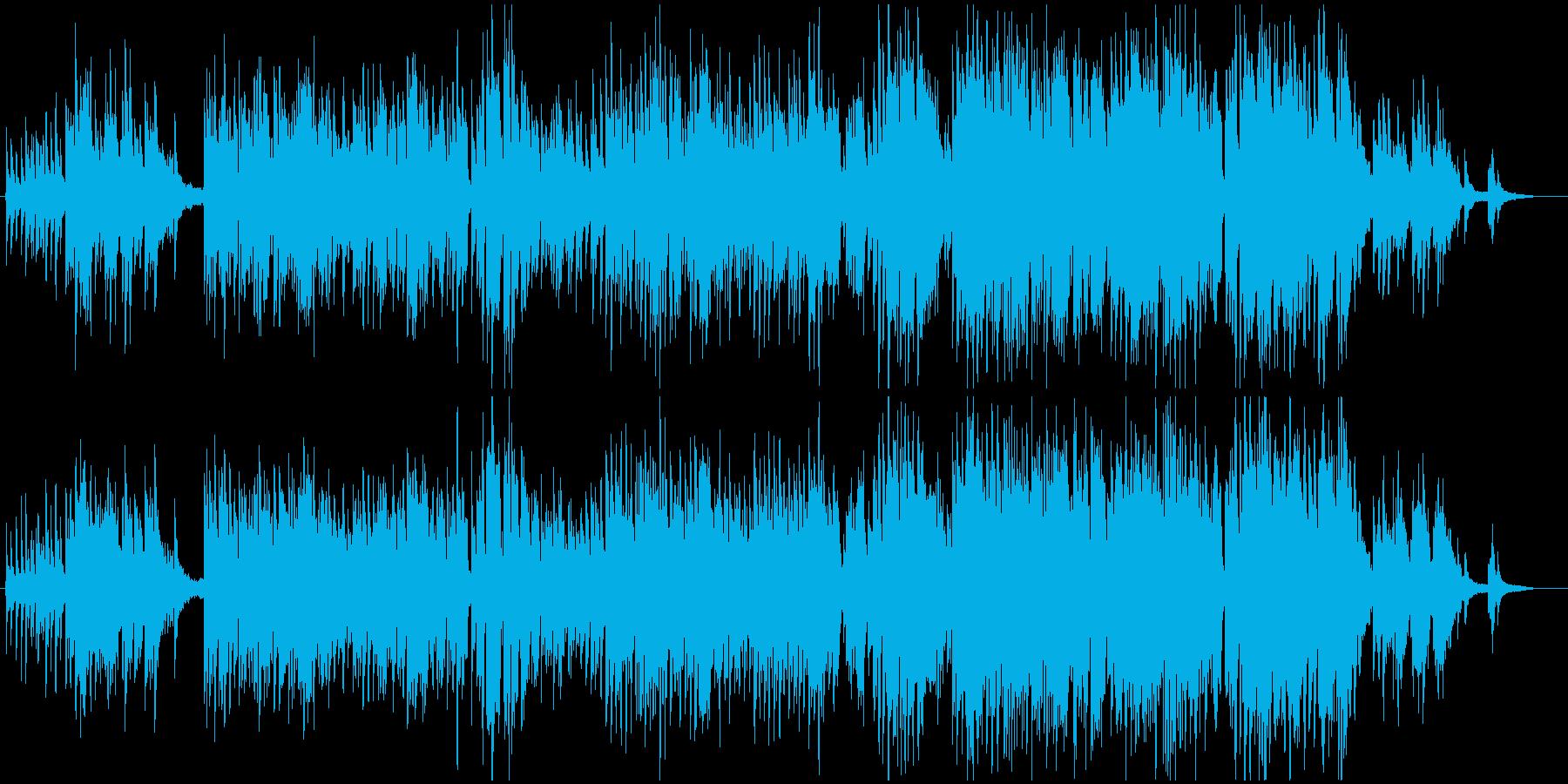 ピアノと歌声が、日常の詞を素敵に奏でますの再生済みの波形