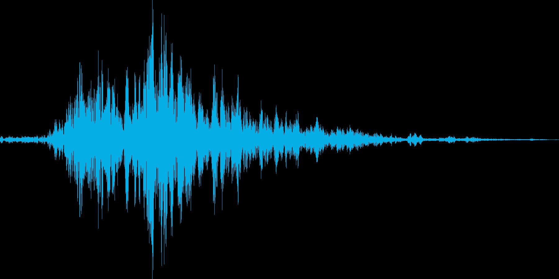 和の鈴です の再生済みの波形