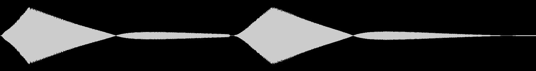 ぴよっ(ひよこ/動物園/鳴き声)の未再生の波形