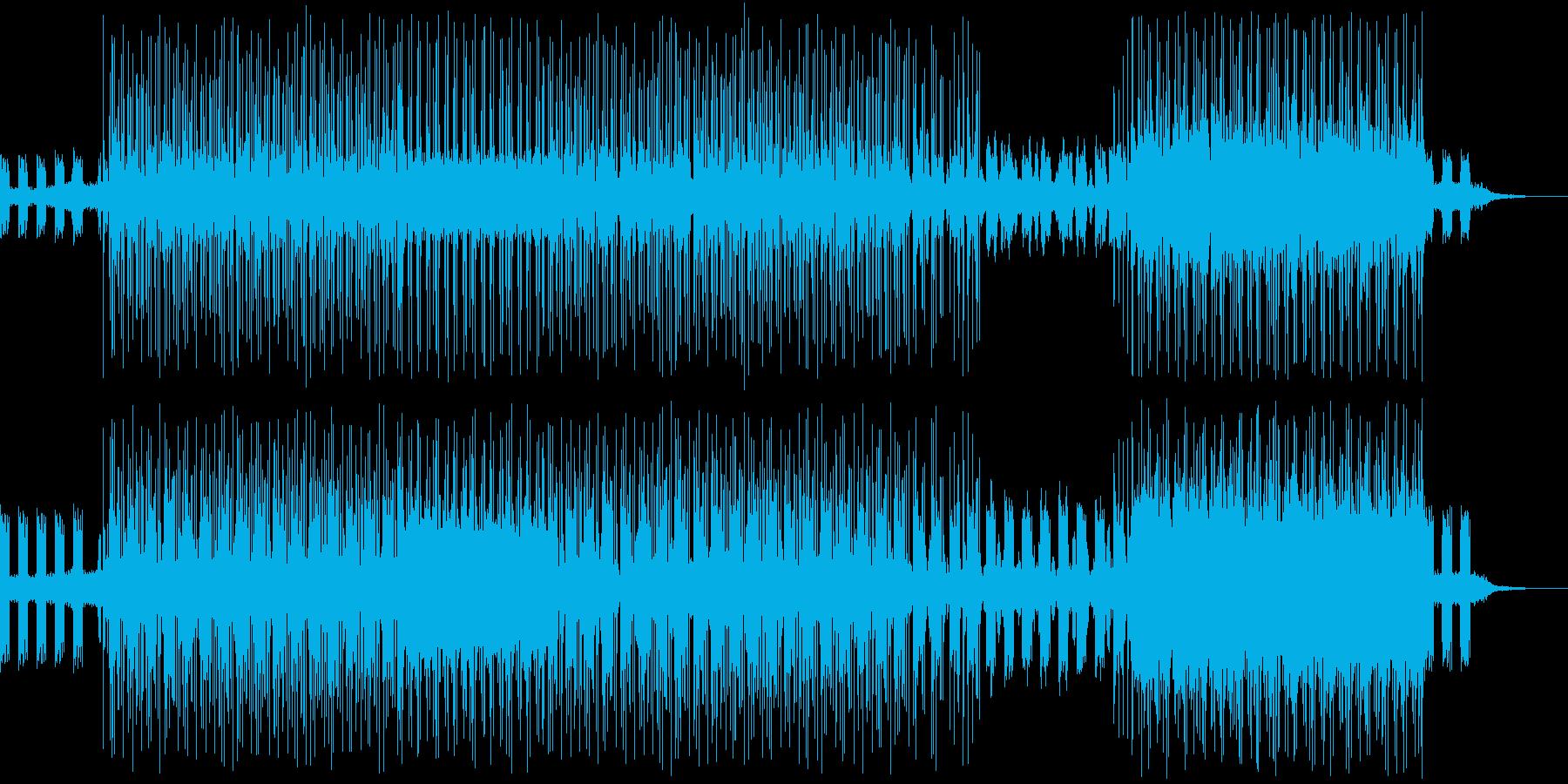 印象的なフレーズのテクノ、ニュースなどにの再生済みの波形