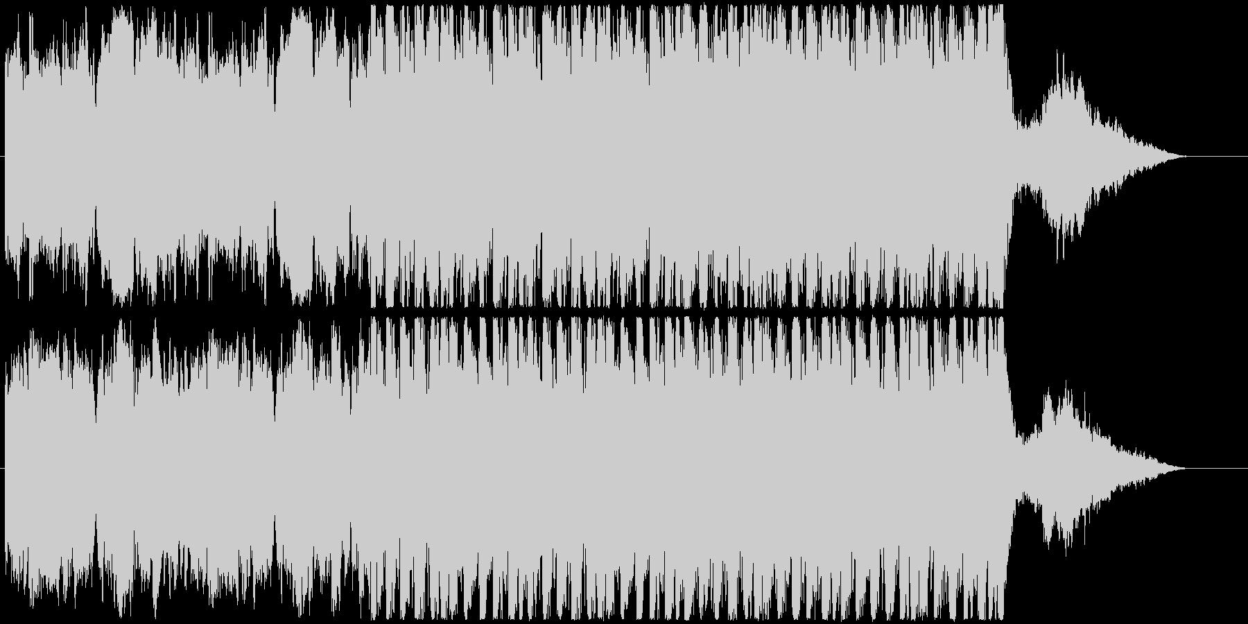 何かが始まる予感の壮大なEPICサウンドの未再生の波形
