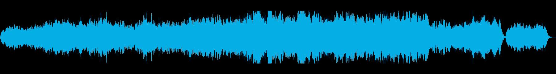 オーケストラとコーラスがマッチした一曲の再生済みの波形