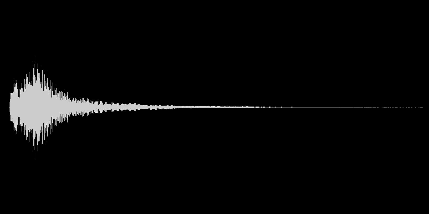 ジャララン ジャラン フラメンコの未再生の波形